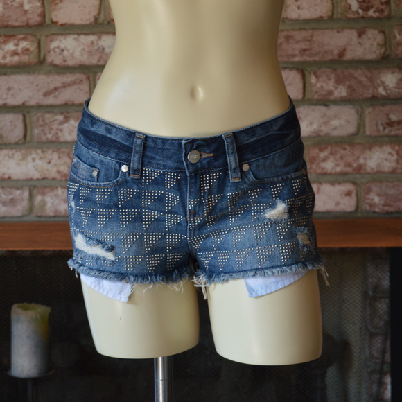 PINK Victoria's Secret Pants - PINK Victoria's Secret Denim Short Shorts Cut offs